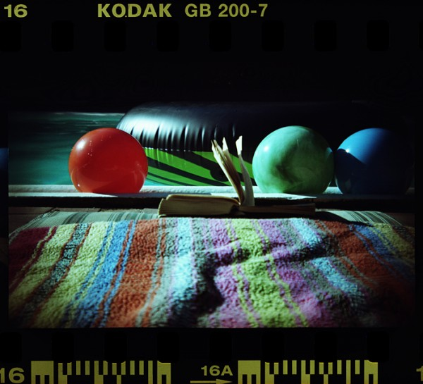 Another Holga 135BC photo with color negative film- unusual for me. Vivid color, dark edges and corners. Fun cameras!