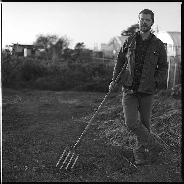David is the Farm Supervisor at the Homeless Garden Project.