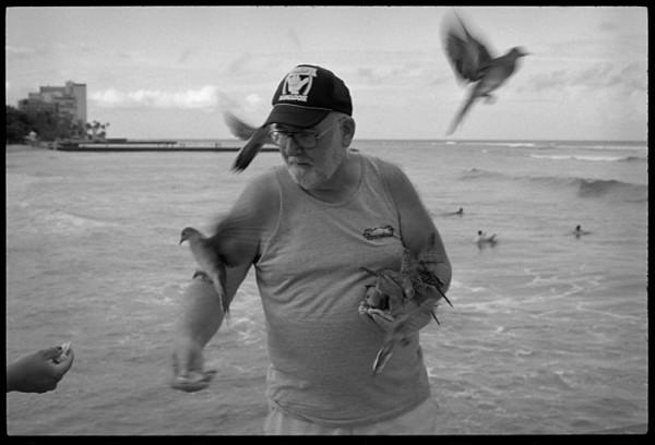 "I called him ""birdman""."