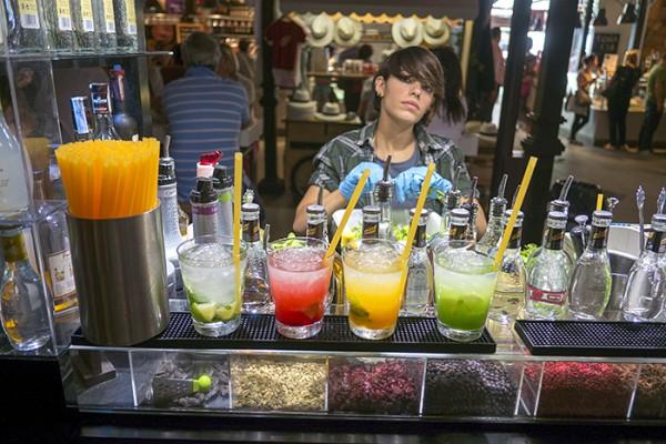 Bartender, Mercado De San Miguel.