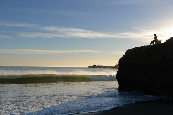 We're so lucky to live in Santa Cruz.