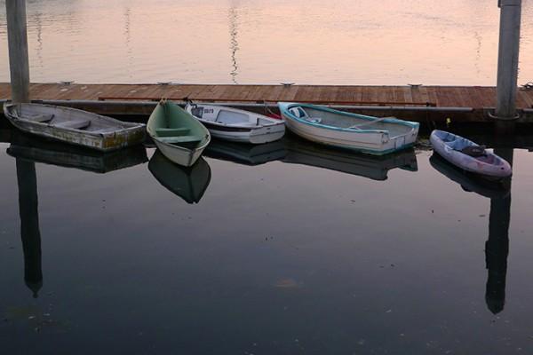 Boats, boats and more boats.