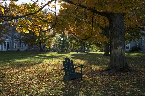 Afternoon and Adirondack, Middlebury College, Vermont
