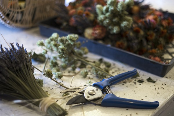 Great holiday wreaths are being made daily.