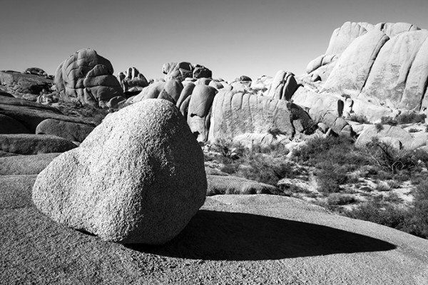 Land of rock formations and Joshua Trees.