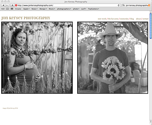 "I have a new portfolio up on my web site. It's a selection of photos from work I did  at the  Homeless Garden Project Farm. Check it out under ""new work""."