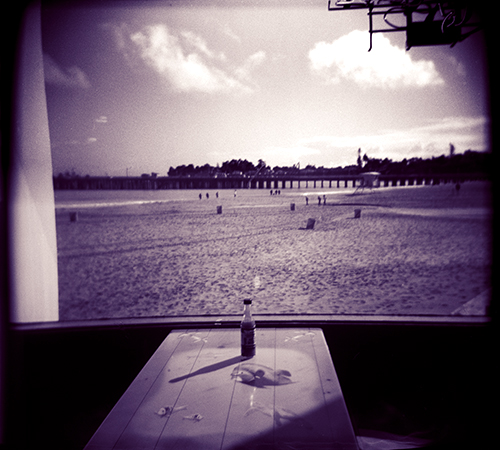 Room with a view! Shot on film with a Holga 120N, a .little over a week ago