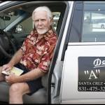 September 5, 2008, Dave of Dave's Cab (davescab.com), Front Street, Santa Cruz