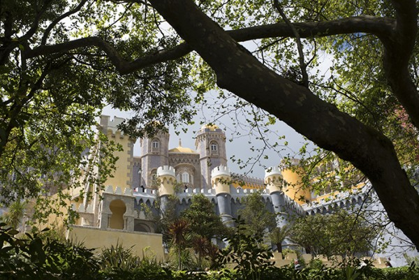 Just outside Lisbon, Palácio National da Pena was an unexpected travel treat.