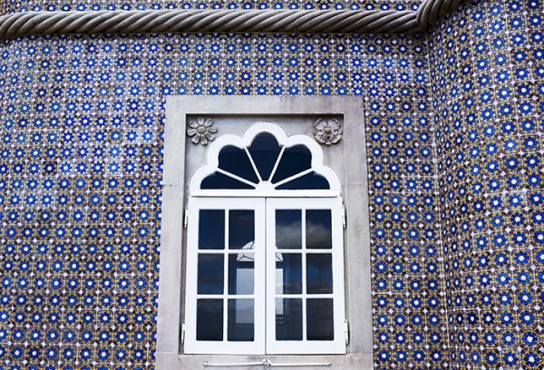 Window and tile detail.
