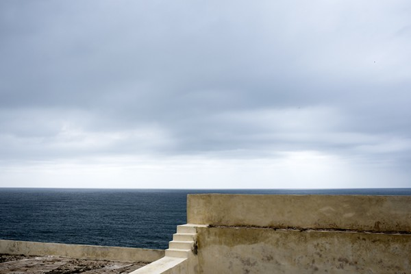 The Horizon and Fortaleza Wall. Fortaleza was where Henry the Navigator set up his school of navigation in the fifteenth century. Some of Portugal's most famous explorers got their training here.