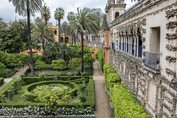 Sevilla's Alcázar. Amazing inside and outside!