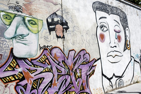 Granada is known for it's arts community. Street art included!