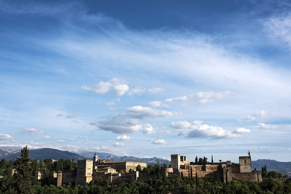 The Alhambra from the other side of town.