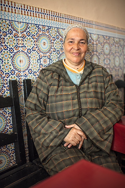 Friendly and self-assured, Aziza spoke Arabic, French and Spanish. She and Olive got along famously moving back and forth from Spanish to French. Meeting her was a highlight of the trip.
