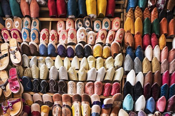 Shoes, Fes Medina, Morocco