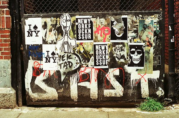 Also seen in the Bowery.