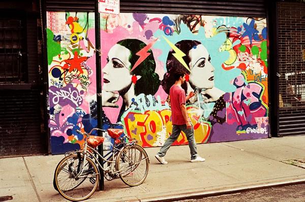 Brooklyn walkin'.