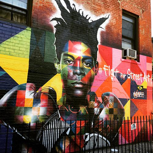 Fight for street art!