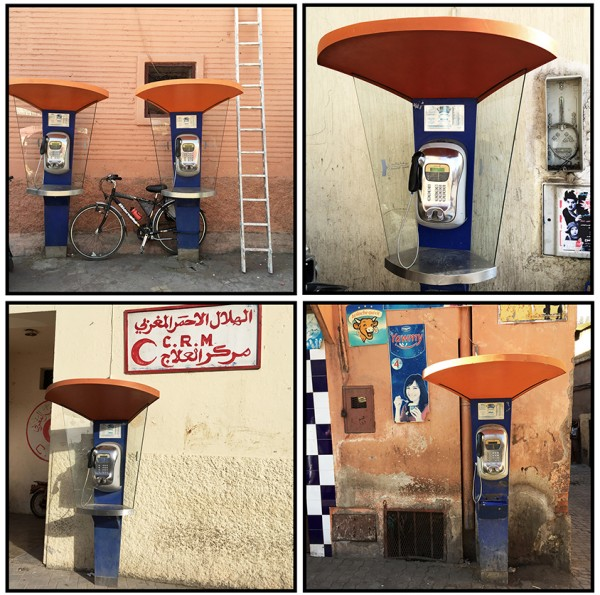 I loved Moroccan public phones!