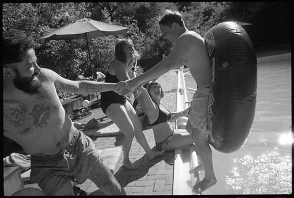 Pool scene, 4th of Juiy 2016!