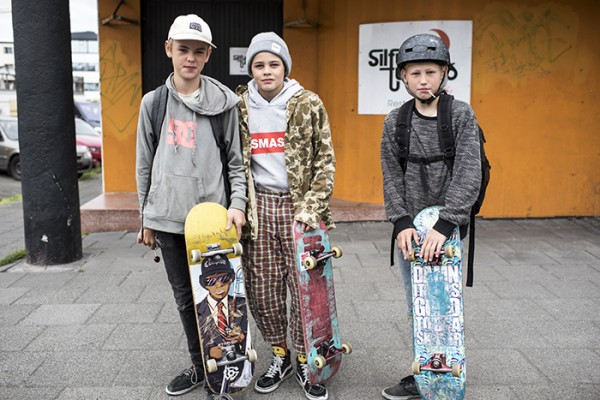 I'm just back from three weeks of travel in Iceland and Copenhagen. I met these young skateboarders in Reykjavik on day one!