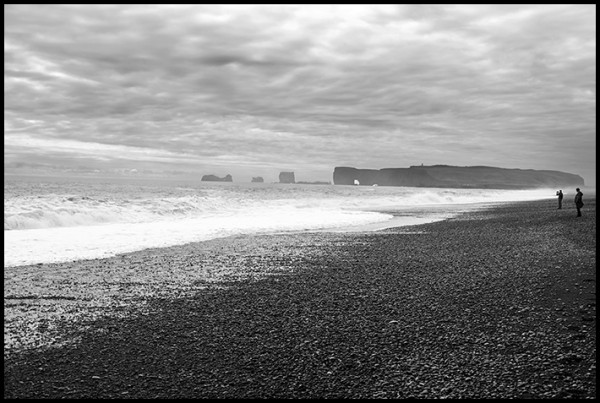 "Just around the corner from Vik is Reynishverfi Beach. ""Dramatic landscape"" is my go to phrase for Iceland."