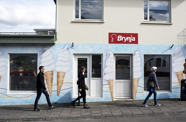 Locals in Akureyri really talked up Brynja ice cream. We made the pilgrimage on a warm sunny afternoon.