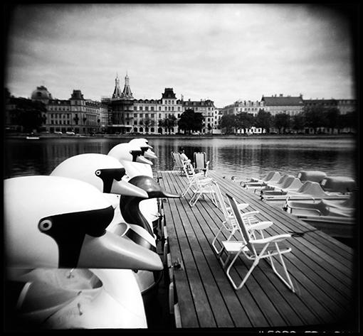 Afternoon scene, Copenhagen.