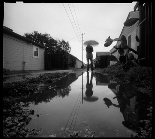 Another pinhole camera photo. Made yesterday between rain showers. Thanks Alice!