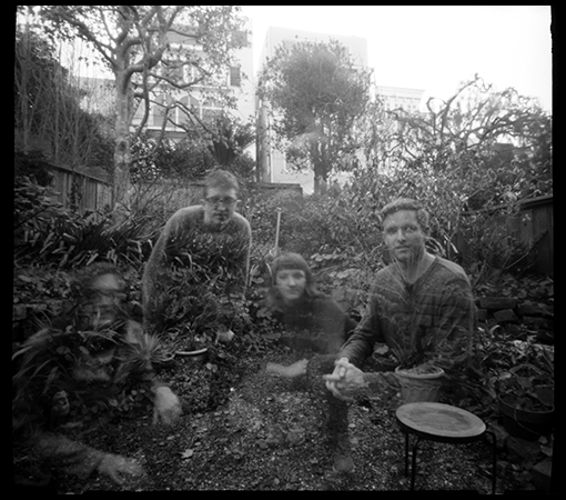 Ghosts in Grandpa's Garden.